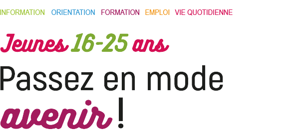 Passez en mode avenir Mission Locale de Vichy